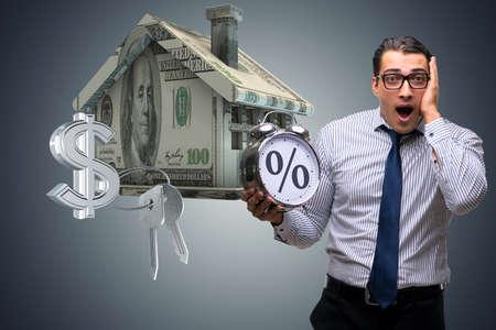 青年実業家の高金利の住宅ローンに驚いた