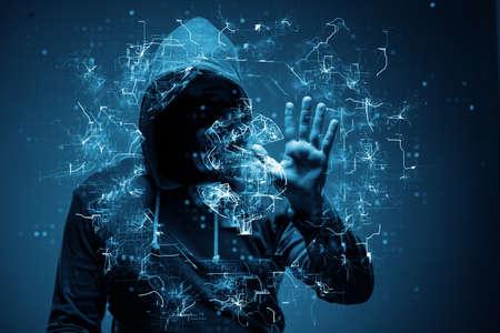 銀行からドルを盗むハッカー