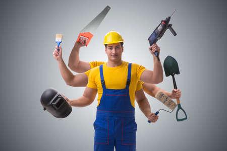 労働者とすべての取引のジャックのコンセプト