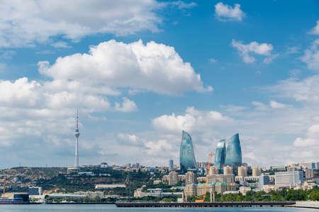 Dagweergave van Bakoe Azerbeidzjaanse architectuur