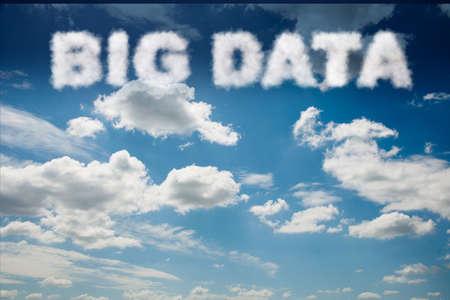 Big Data concept in IT technology Banco de Imagens