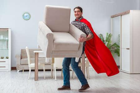 Super held schonere thuis werken