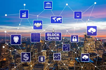 Blockchain concept in database management