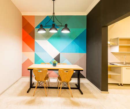 Modern kitchen interior at home