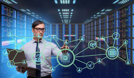 Artificial intelligence modern computing concept Stock Photo - 87264482
