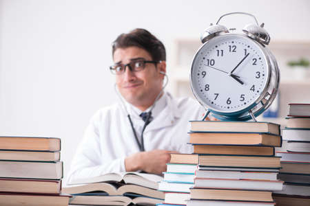 Medical student running out of time for exams