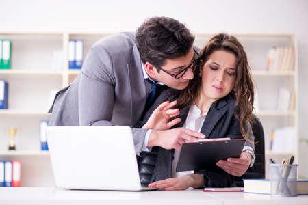 職場の男女とのセクハラ概念