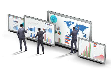 Koncepcja wykresów biznesowych i wizualizacji finansów