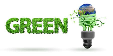 Concept d'efficacité énergétique - rendu 3D Banque d'images