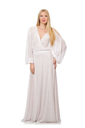 Femme au concept de vêtements de mode Banque d'images