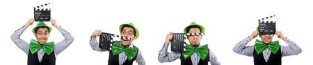 Funny man in saint patrick holiday concept Banco de Imagens