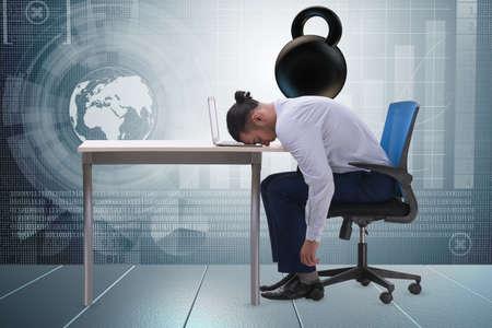 Employé avec charge de travail