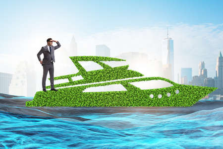 Green environmentally friendly vehicle concept