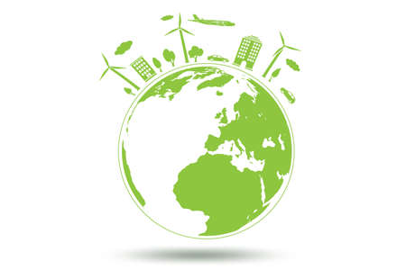 Concept of environmental protection - 3d rendering Stock Photo
