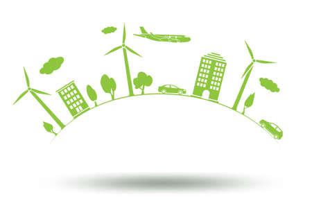Il concetto di protezione ambientale - rendering 3d