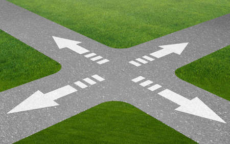 Concept of crossroads in uncertainty concept