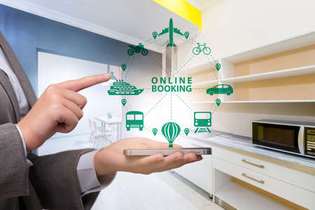 The concept of online hotel booking