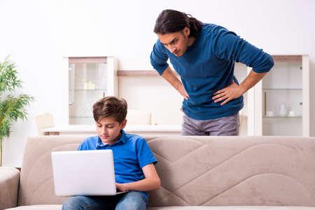 Concept of dangerous habits by children