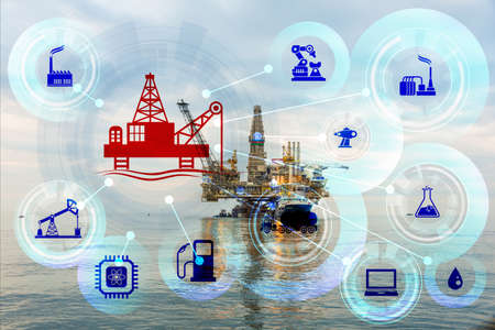 Concept of automation in oil and gas industry