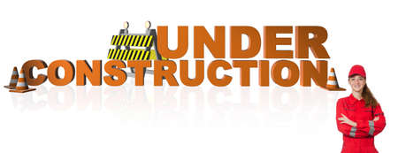 The concept of under construction for your webpage