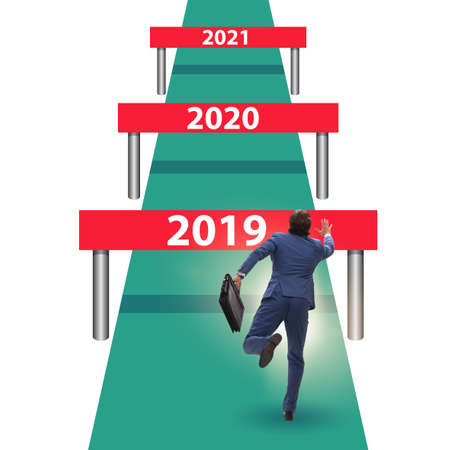 Running barriers with future years