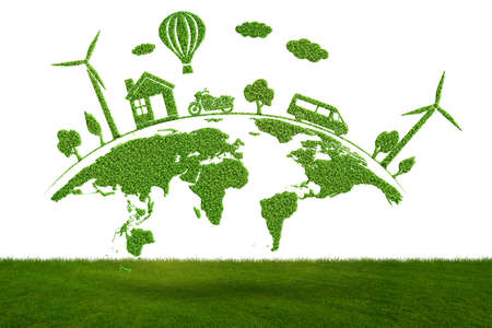 Concept of environmental protection - 3d rendering