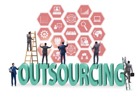 Concept of outsourcing in modern business