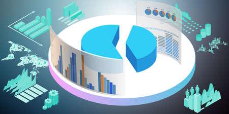 Diverses visualisations dans l'environnement commercial - rendu 3D