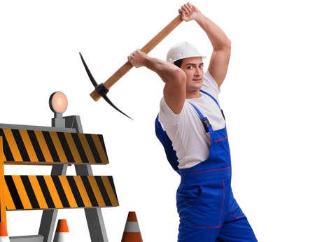 Concept of under construction for your webpage Banco de Imagens
