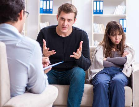 Psycholog odwiedzin rodzinnych w sprawie problemów rodzinnych