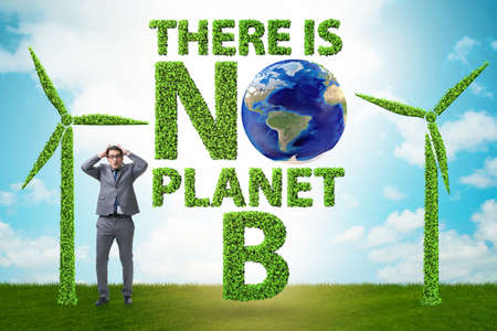 Ecological concept - there is no planet b