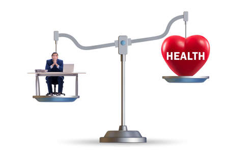 The concept of balance between work and health