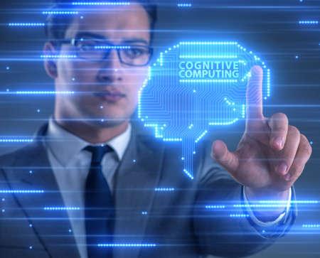 The cognitive computing concept as modern technology Standard-Bild