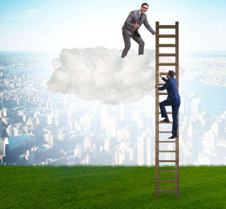 The concept of mentorship in business and career progression Stock fotó