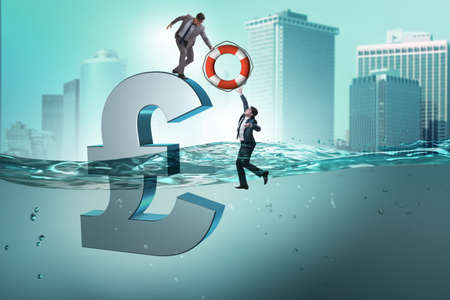 Pound GBP currency devaluation and the exchange rate concept