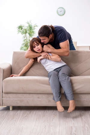 Young couple in domestic violence concept Banque d'images - 151432406
