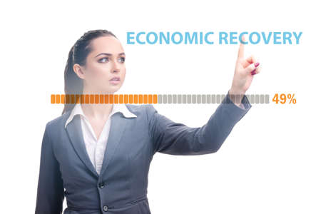 Economic recovery concept after the crisis