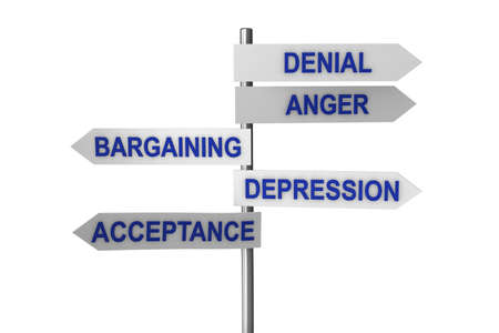Concept of five stages of grief