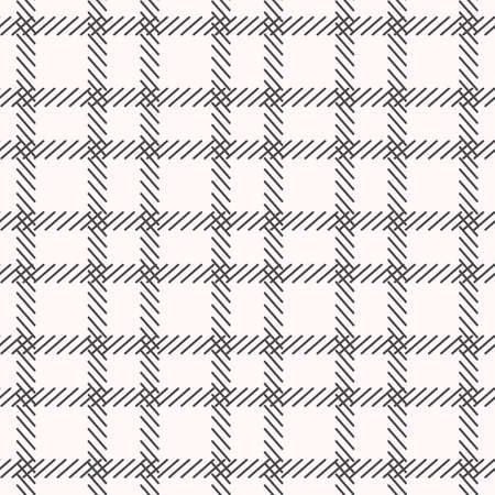 Black and white cage seamless pattern. Vector illustration.