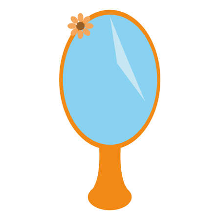 Mirror icon. Cartoon illustration of mirror vector icon for web design Standard-Bild - 98362693