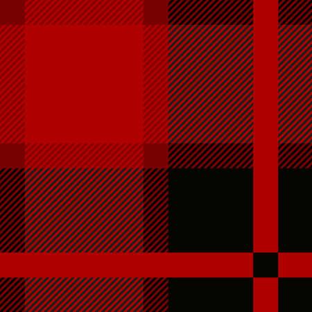 Red royal stewart tartan seamless cloth pattern. Illustration