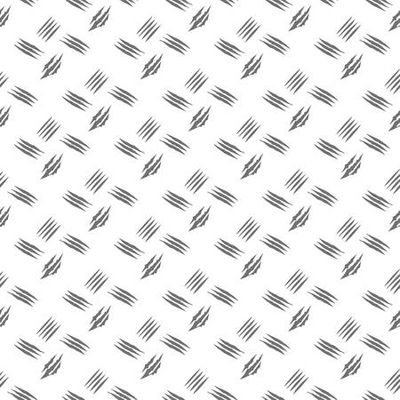 Black and white tally marks hand drawn seamless pattern Illustration