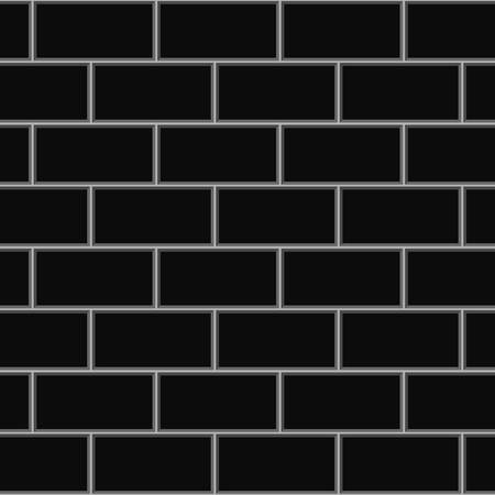 subway brick tile wall. Vector illustration.