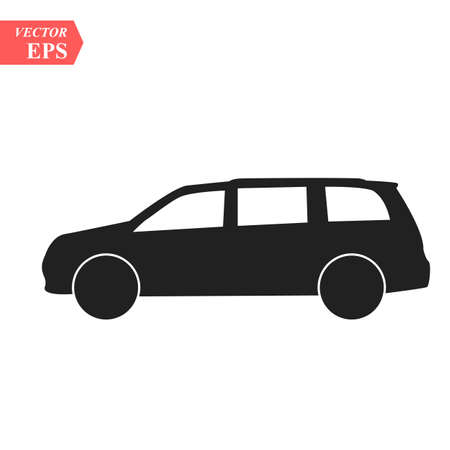 SUV Icon. Vector concept illustration for design. eps10 向量圖像