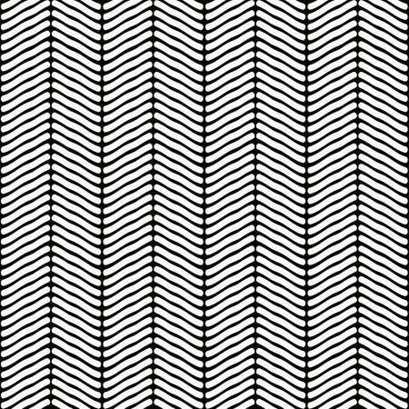 Herringbone Woven Seamless Swatch Pattern Vector Illustration Illustration