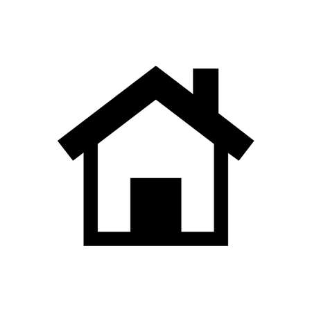 Home Icon in trendy flat style isolated on grey background. Homepage symbol for your web site design, logo, app, UI.