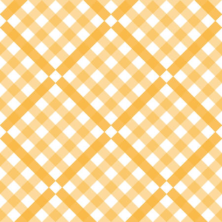 Tartan pattern. Scottish cage. Scottish yellow checkered background. Scottish plaid in yellow colors. Seamless fabric texture. Vector illustration - Vector