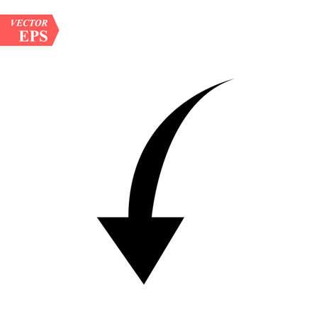 Arrow Icon, Arrow Icon pictogram, Arrow Icon Vector illustration, isolated backward arrow iconeps 10.