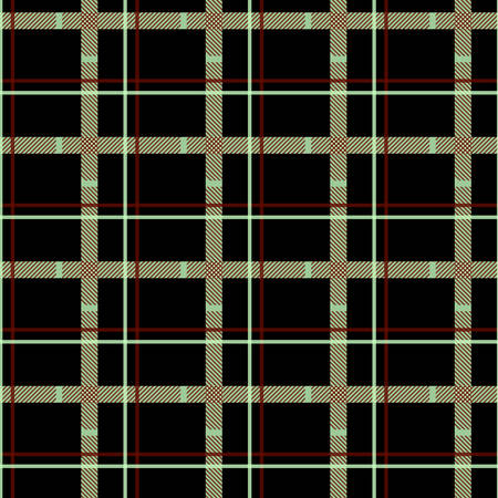 Traditional tartan. Seamless Scottish plaid checkered vector pattern. Retro textile collection. eps 10