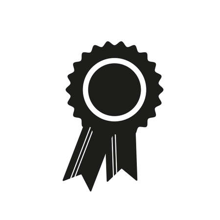 Award Icon in trendy flat style isolated on white background. Badge symbol for your web site design, logo, app, UI. Vector illustration, EPS 10.